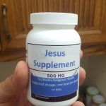 Is Jesus a supplement or something else?